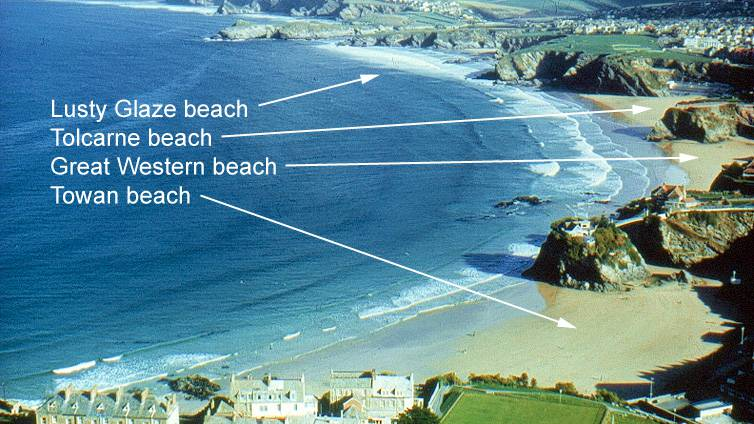 Newquay Bay and Beaches