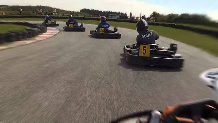 Go-Karting St Eval Newquay Cornwall