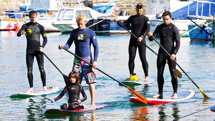 Stand Up Paddle Boarding Newquay Cornwall